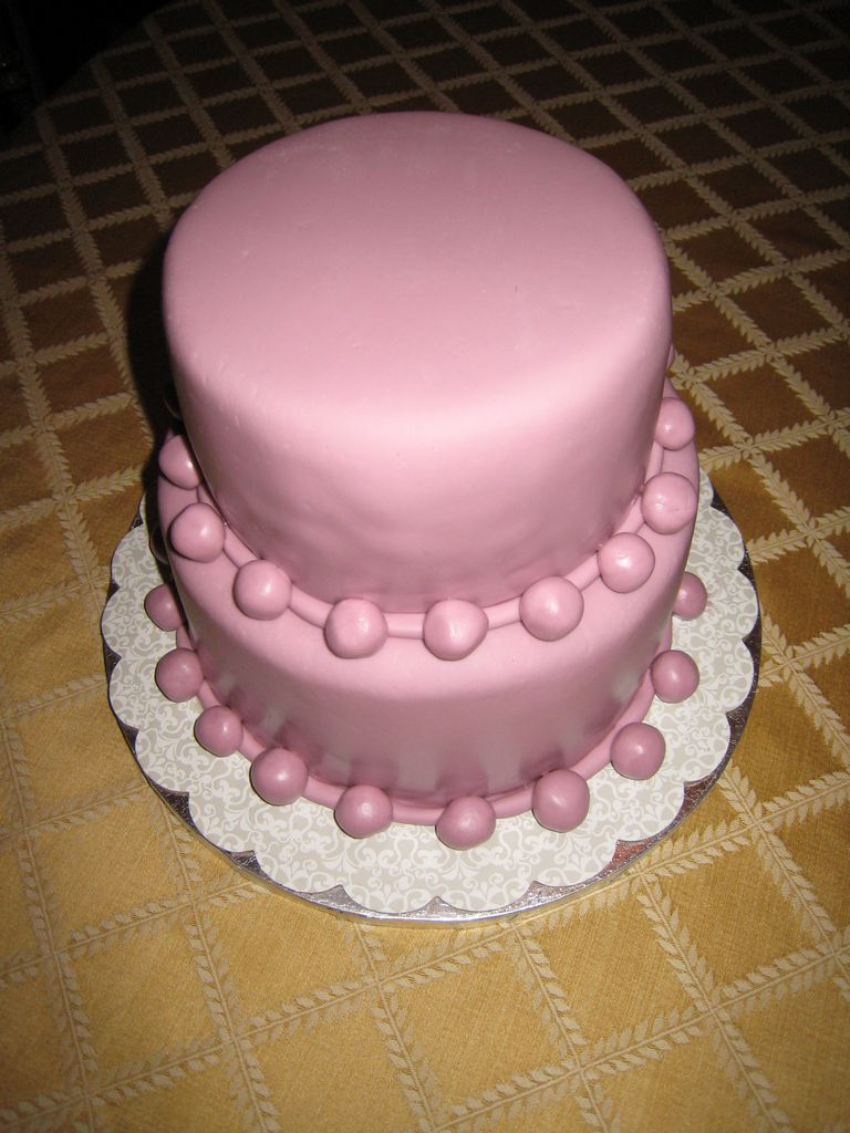 Simple Tiered Cake